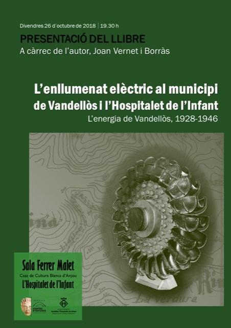 Cartell Presentació llibre Joan Vernet (1)